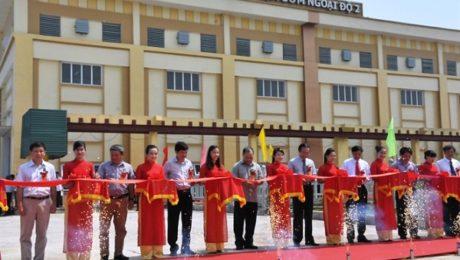 Trạm bơm tiêu úng ở Hà Nội mới khánh thành