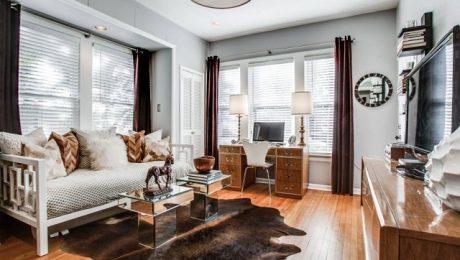 Không gian làm việc mơ ước của mọi nhân viên - Phòng khách và văn phòng cùng một không gian
